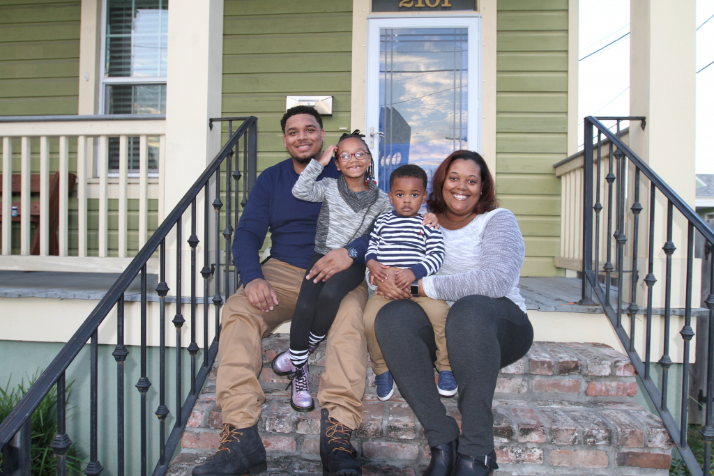 Affordable Housing Family